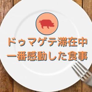 【SPEA体験記・続編】夫合流!初めてのドゥマゲテをおもてなしで感動のレストラン【24日目】
