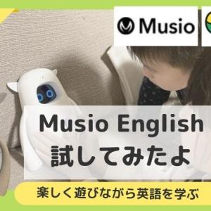 【動画あり】Musio Englishの口コミ!兄弟で使えるAI英会話ロボット