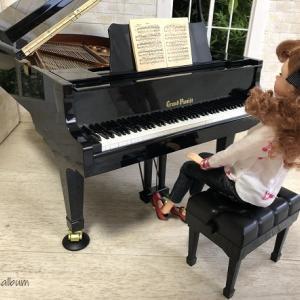 本当に弾ける♪1/6サイズのミニチュアピアノ【セガトイズ グランドピアニスト】