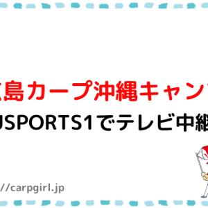 広島カープ沖縄キャンプ2021中継ありがたいです~