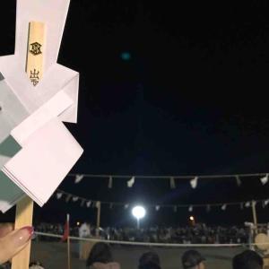 令和元年出雲神迎祭in稲佐の浜