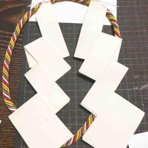 紙垂を習いに行ってきました!