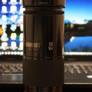 MINOLTA AF ZOOM 75-300mm F4.5-5.6 初期型