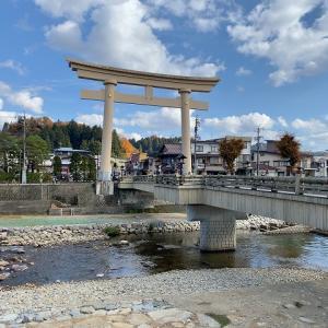 [岐阜県] 高山市 飛騨國の八幡神社 櫻山八幡宮