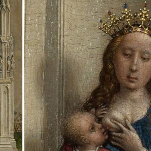 玉座の聖母子(Weyden)