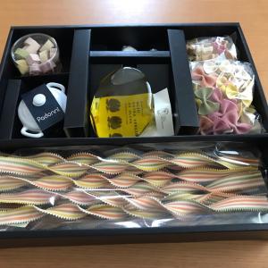 unico(ミサワ)から株主優待のパスタセットが届きました。