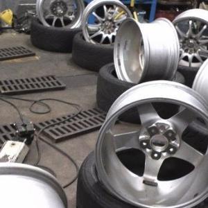 タイヤとホイールサイズについて実験してみる