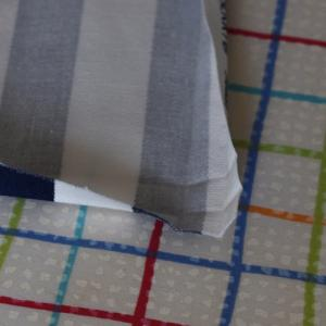 額縁縫いでテーブルクロスを作る