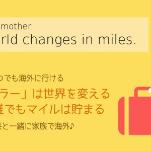 【陸マイラーで世界が変わる】マイルで毎年気軽に海外旅行!子供と一緒に旅に行こう。