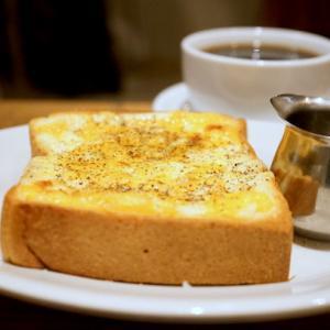 西新宿カフェ:サウザンドコーヒー|チーズトースト、ブレンド