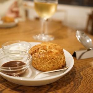 目黒カフェ:wellk ウェルク|早速リピート♪きのこのポタージュと全粒粉のスコーン