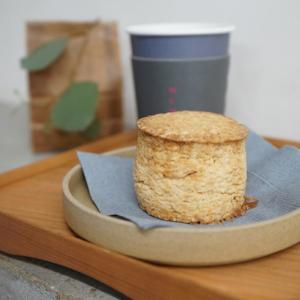 福岡カフェ:MUME(ムメ)|塩こうじと甘糀のスコーン、和生姜入りほうじ茶