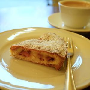 西大島カフェ:CANTA(カンタ)|いちごとホワイトチョコのタルト、アメリカーノ