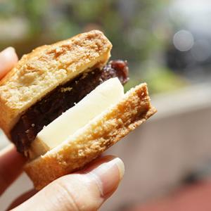 【テイクアウト】西新宿カフェ:サウザンドコーヒー バニラスコーンとあんこ&バター