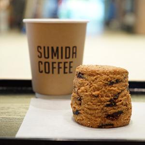 錦糸町カフェ:SUMIDA COFFEE|黒いちじくと黒糖のスコーン&サマーブレンド