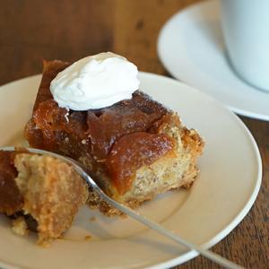 松屋町カフェ :coffee HUT|紅玉りんごのタルト、タンザニアピーベリー