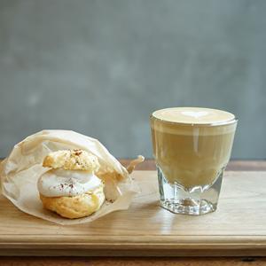 日本橋カフェ:Mighty Steps Coffee Stop 新作!コーヒークリームスコーン