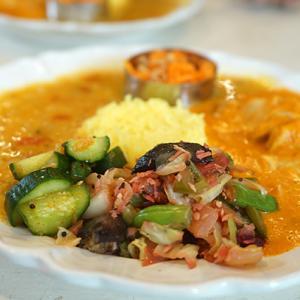 鵠沼カフェ:San Curry cafe|月に1度のスペシャルプレート♪カレーもベイクも