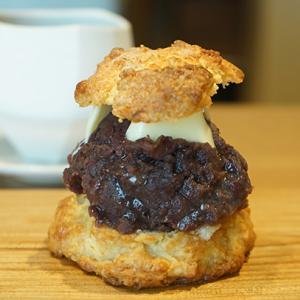 鞍馬口カフェ:お菓子つくる|あんバタースコーン、つくるのブレンド