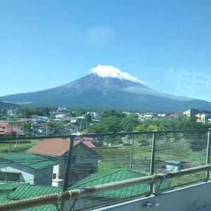 今年最初の富士山試走