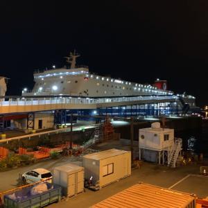 【船】名門大洋フェリー 「きたきゅうしゅうⅡ」デラックスルームで新門司へ