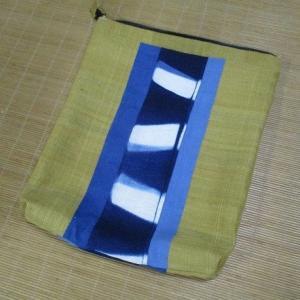 藍染布のお稽古バッグ