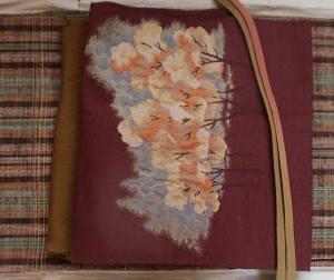 母の紬に名古屋帯