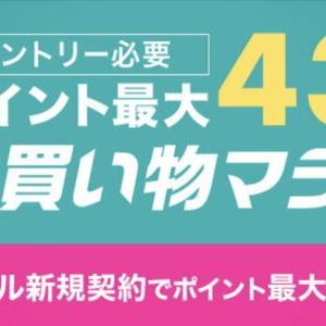 4月16日まで楽天お買い物マラソン開催中!10倍目指して参戦レポ