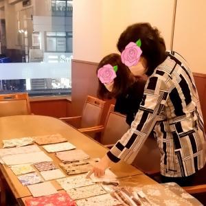 レポ☆仕事帰りに癒やされました♡仮置きマスクケースレッスン