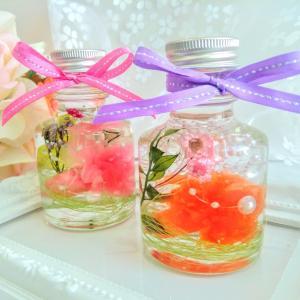 かんたんかわいい♡母の日のプレゼント向けハーバリウム♡