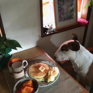 ハッピーな朝食