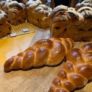 スイス編みパン。