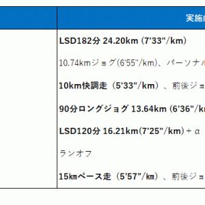 9月第3週のレビューと今週からは岩本式!