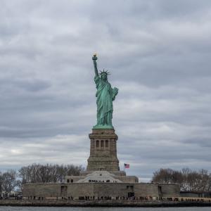アメリカ ニューヨーク マンハッタンの街並み