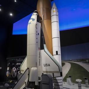 アメリカ ワシントンD.C.の国立航空宇宙博物館を見る!!