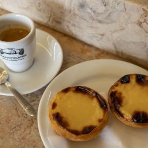 ポルトガル Manteigariaで食べたエッグタルトとか