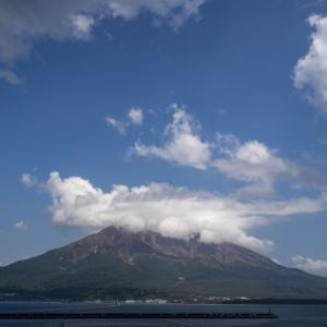 日本一周 鹿児島 桜島の活火山を見に行ったら次の日噴火した