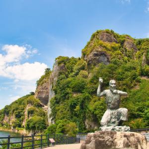 侵食で出来た芸術 耶馬渓と五百羅漢のある羅漢寺