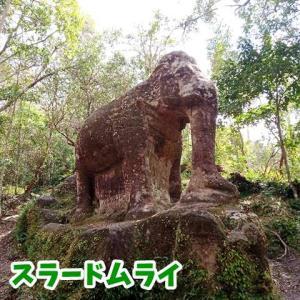【スラードムライ】美しい巨大なる象の像へ会いに行く