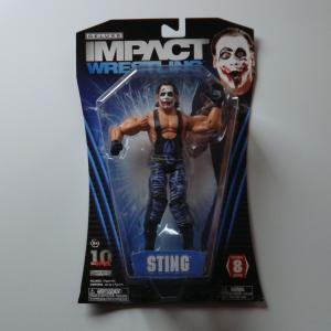 TNA 2012 DELUXE IMPACT WRESTLING STING スティング(白ペイント)SERIES8 Jakks Pacific