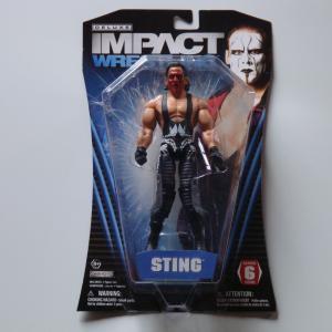 TNA 2011 DELUXE IMPACT WRESTLING STING スティング(赤ペイント)SERIES6 Jakks Pacific