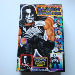 WCW BASHIN`BRAWLERS INTERACTIVE ELECTRONIC TALKING STING(ホワイトフェイス・スティング)