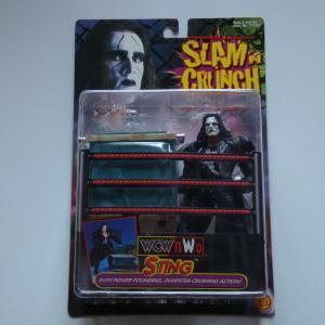 WCW・nWo・STING・スティング・SLAM 'N CRUNCH WRESTLERS 1999アクションフィギュア