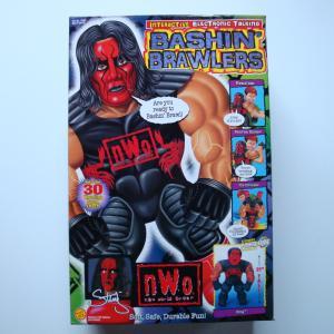 WCW BASHIN`BRAWLERS INTERACTIVE ELECTRONIC TALKING STING(レッドフェイス・スティング)