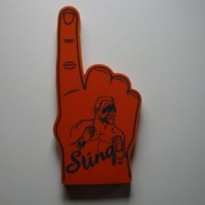 WCW STING スティング 応援スポンジハンド