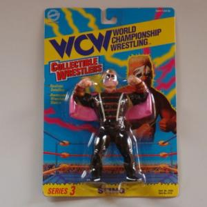 WCW 1994 TOY MAKERS COLLECTIBLE WRESTLERS STING スティング SERIES 3
