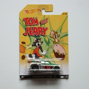 Hot Wheels TOM & JERRY トムとジェリー COCKNEY CAB II 75周年記念 メタルダイキャスト ミニカー