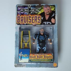 WCW 1999 TOY BIZ BRUISERS Bam Bam Bigelo ビガロ