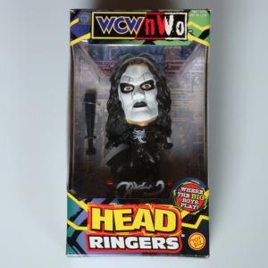 WCW NWO 1999 TOY BIZ HEAD RINGERS  STING スティング
