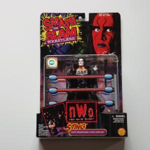 WCW SMASH'N SLAM WRESTLERS STING ホワイト スティング